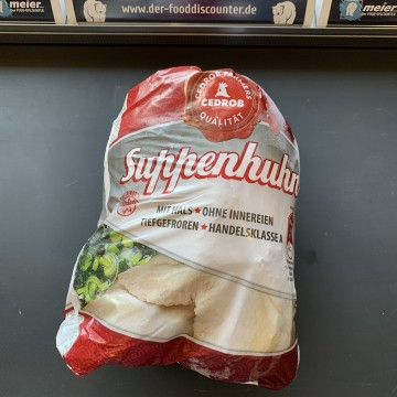 Suppenhuhn 3600g